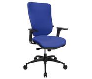 Flexness Drehstuhl Pro mit High-Tech Rückenlehne, mit Armlehnen