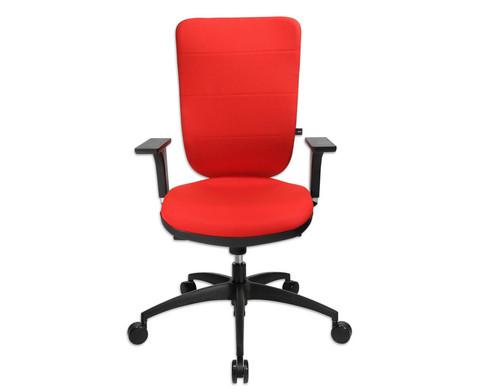 Flexness Drehstuhl Pro mit High-Tech Rueckenlehne mit Armlehnen-11