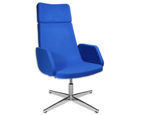 Flexness Lounge Sessel mit Armlehnen