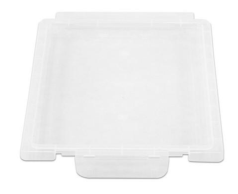 Gratnells Deckel transparent fuer alle Boxen