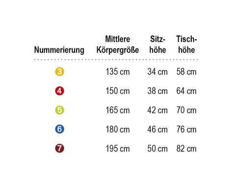 x-Tra Vierbeingestell Sitzhoehe 46 cm-6