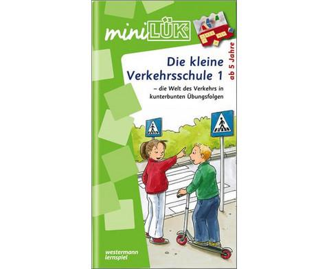 miniLUEK-Heft Die kleine Verkehrsschule 1-1