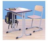 Schüler-Einer-Tisch, 70 x 55 cm, Tischhöhe 64 cm