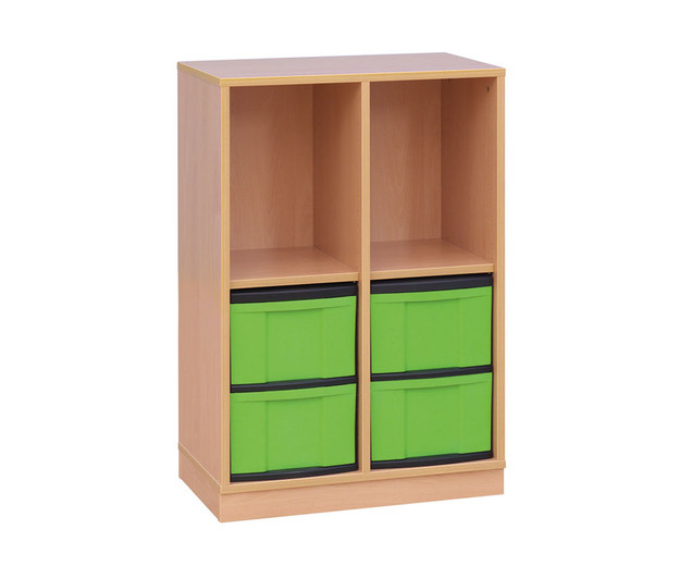 klassenzimmerregal 5 5 f cher 20 kleine schubladen sockel. Black Bedroom Furniture Sets. Home Design Ideas