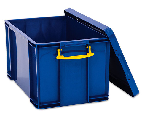 Aufbewahrungsbox 35 l blau-1