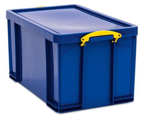 Aufbewahrungsbox 84 l blau-1