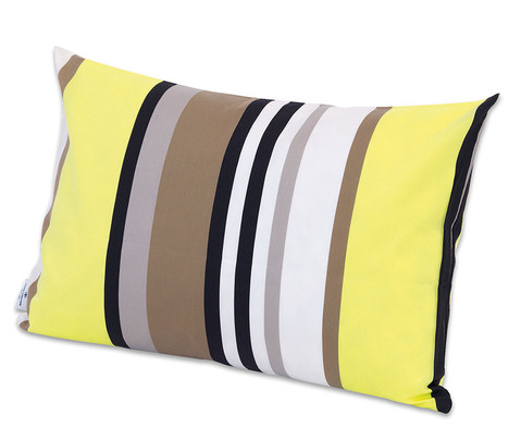 Kissenhuelle Yellow Stripes 40 x 60cm-1