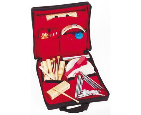 Betzold Musik Rhythmik-Tasche mit 26 Einzelinstrumenten