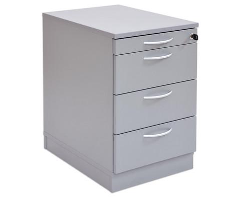 Flexeo Schreibtisch-Container mit 4 Schubladen