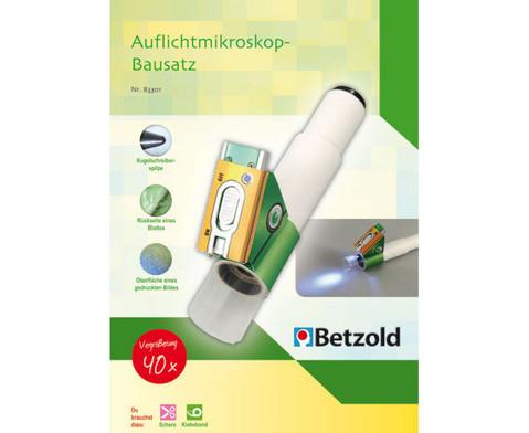 Schueler-Bausatz fuer 40x-Auflichtmikroskop-2