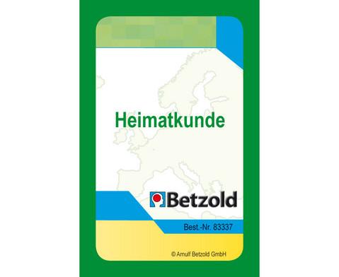 Betzold Heimatkunde - Kartensatz fuer den Magischen Zylinder