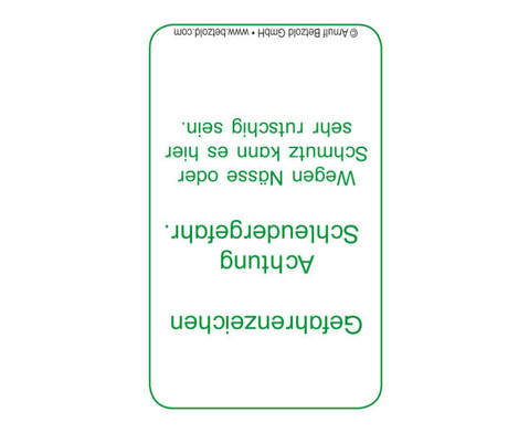 Verkehrszeichen - Kartensatz fuer den Magischen Zylinder-3