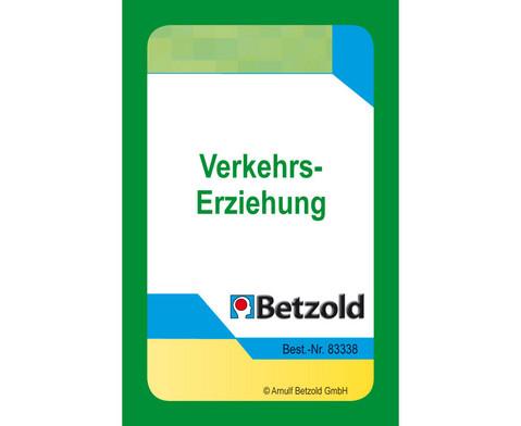 Verkehrszeichen - Kartensatz fuer den Magischen Zylinder