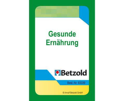Kartensatz fuer den magischen Zylinder Gesunde Ernaehrung-1
