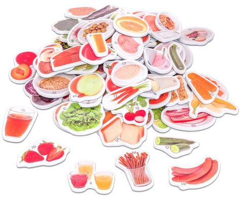 Magnetische Lebensmittel-Bilder plus Kunststoffbox-3