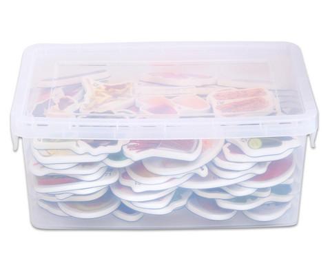 Magnetische Lebensmittel-Bilder plus Kunststoffbox-4