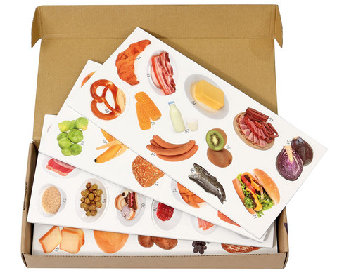 Die magnetische Lebensmittel-Pyramide