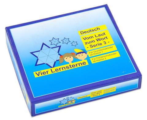 Lernstern Deutsch Vom Laut zum Wort - Serie 3-2