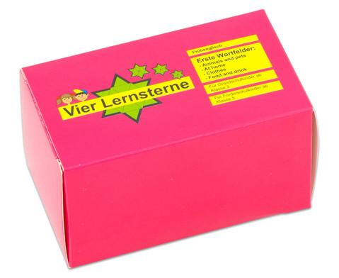 Lernsterne - Fruehenglisch Erste Wortfelder 1-2