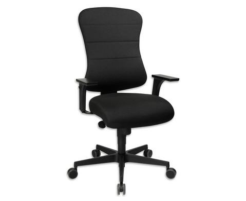 Flexness Drehstuhl Comfort mit Armlehnen-1