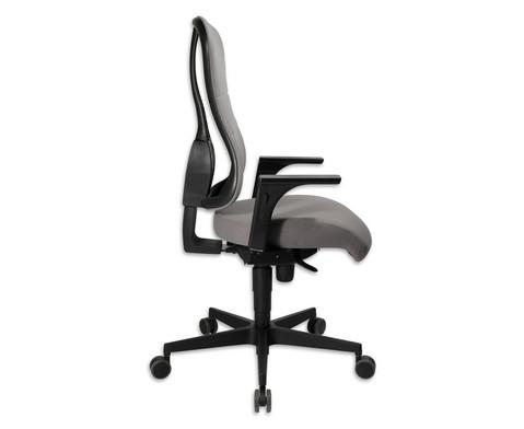 Flexness Drehstuhl Comfort mit Armlehnen-25