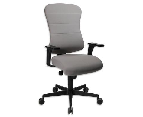 Flexness Drehstuhl Comfort mit Armlehnen-17