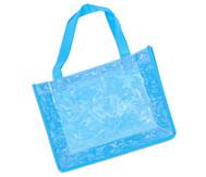 Tasche A4 Querformat, blau