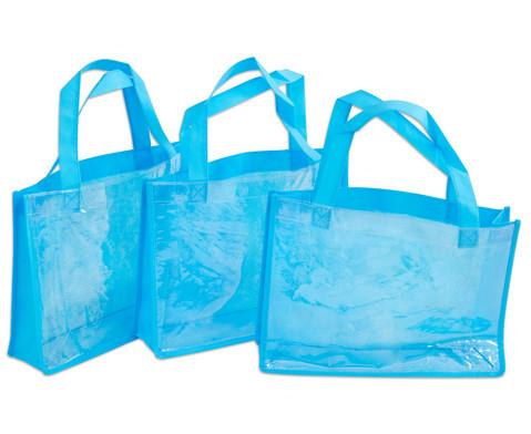 Tasche A4 Querformat blau-6
