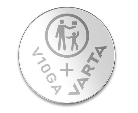 VARTA Batterie fuer Digitalthermometer