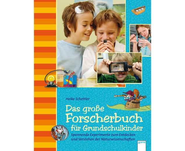 das gro e forscherbuch f r grundschulkinder. Black Bedroom Furniture Sets. Home Design Ideas
