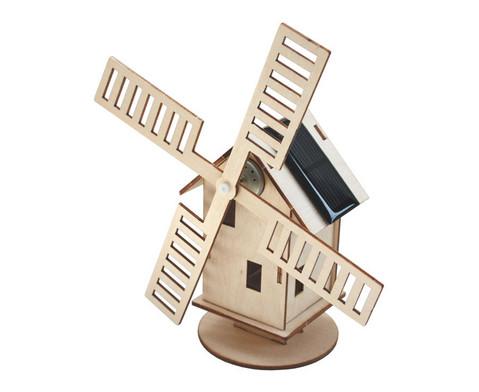 Windmuehle mit Solarantrieb-1