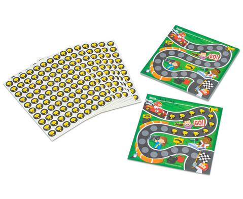 Belohnungs-Sammelkaertchen Rennfahrer-1