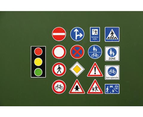 Verkehrszeichen-Satz fuer die Tafel-2