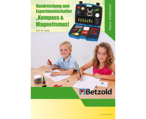 Betzold Experimentier-Koffer Kompass  Magnetismus-4