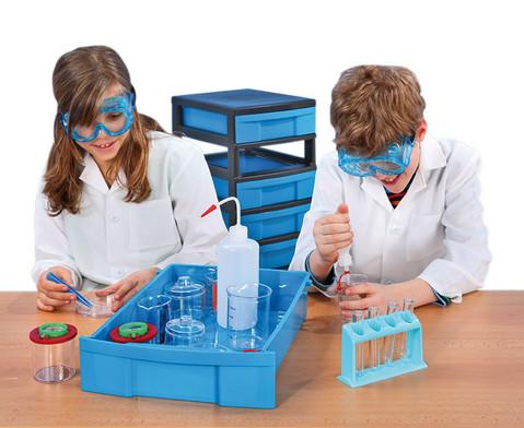 Fahrbares Experimentier-Labor mit 249 Teilen-1