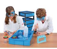 Fahrbares Experimentier-Labor mit 249 Teilen