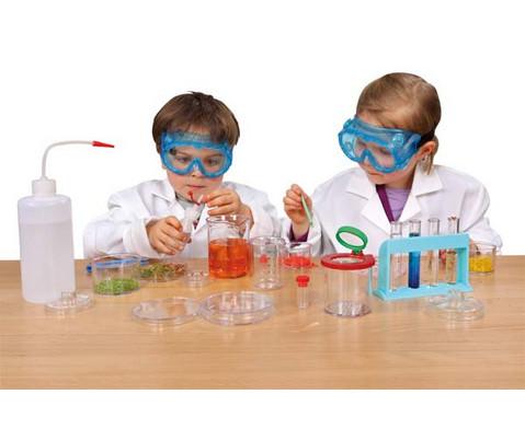 Fahrbares Experimentier-Labor mit 249 Teilen-2
