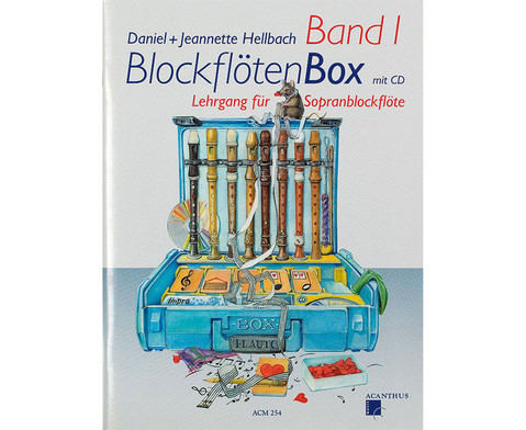 BlockfloetenBox - Band I mit CD-1