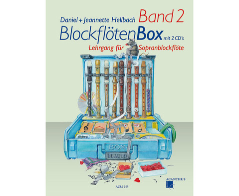 BlockfloetenBox - Band II mit CD-1