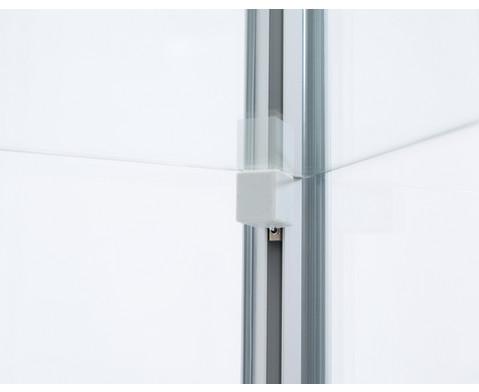 Rubo Quadrat-Vitrine mit Unterschrank-8