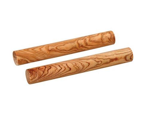 Paar Claves aus Kokosnussholz 20 cm