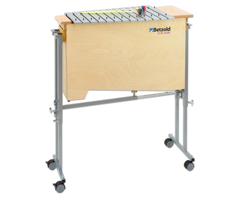 Fahrbarer Universal-Wagen fuer Xylophone und Metallophone-4