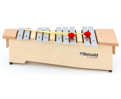 Sopran Metallophon - chromatische Ergaenzung
