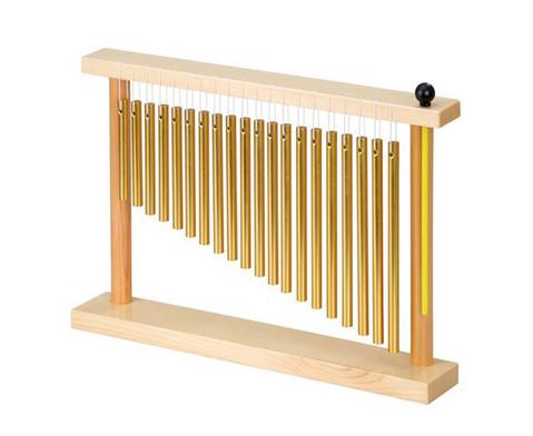 Betzold Musik Bar Chime mit Holz-Stativ