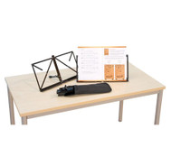Set mit 12 Tisch-Notenständern
