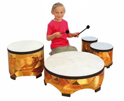 Betzold Musik Spar-Set mit 4 Boden-Trommeln