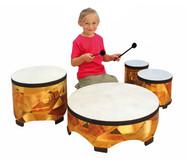 Spar-Set mit 4 Boden-Trommeln