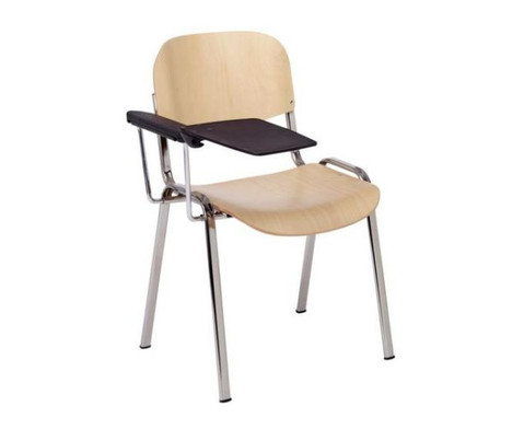 Stuhl mit klappbarer Schreibflaeche aus Kunststoff-2