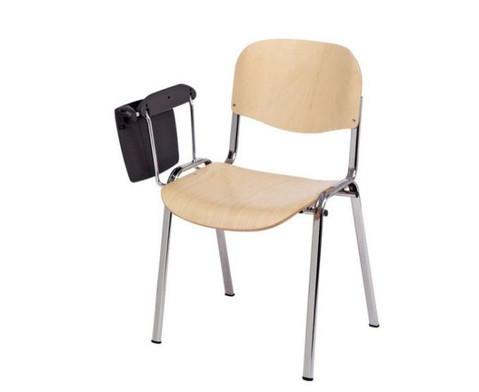 Stuhl mit klappbarer Schreibflaeche aus Kunststoff-3