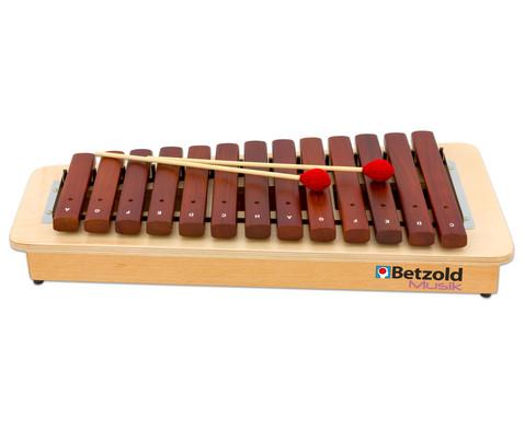 Betzold Musik Kompakt-Sopran-Xylophon
